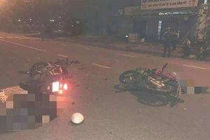 Xe máy tông nhau kinh hoàng, 2 người chết, cô gái nguy kịch