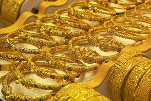 Giá vàng bật tăng mạnh sau khi đồng USD suy yếu