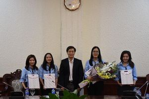 Thứ trưởng Nguyễn Khánh Ngọc tiếp Hội Luật Quốc tế và các sinh viên đoạt giải cuộc thi FDI MOOT