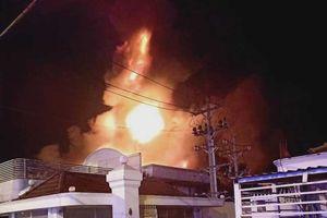 Cháy lớn tại Công ty nhựa Kim Ngọc Long - Cần Thơ