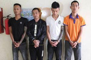Bắt nhóm nghi phạm đòi nợ thuê bằng… 'bom bẩn'