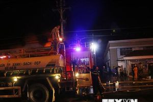 Cần Thơ: Khống chế được đám cháy tại khu công nghiệp Trà Nóc