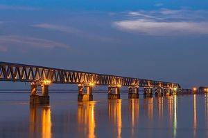 Ấn Độ khánh thành 'siêu cầu đa nhiệm' sát biên giới Trung Quốc