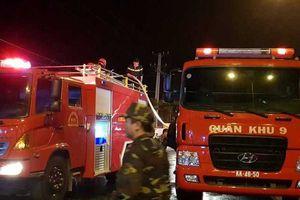Thông tin mới nhất về vụ cháy ở khu công nghiệp Trà Nóc