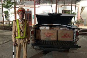 Bắc Giang: Bắt đối tượng vận chuyển cánh gà không rõ nguồn gốc