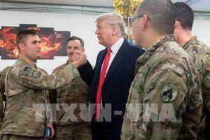 Tổng thống Mỹ Donald Trump bất ngờ thăm Iraq