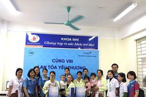 VBI Hà Nội sẻ yêu thương cho bệnh nhân nghèo