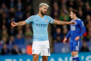 Thua đau Leicester City, Man City bị Liverpool bỏ xa tới 7 điểm
