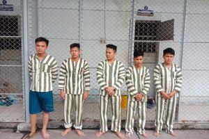 Nhóm thanh niên hành hung, giam giữ con nợ ở TP.HCM