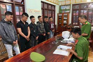 Bắt nhóm người ở các tỉnh phía Bắc vào Đắk Lắk cho vay nặng lãi