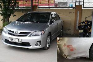 Thực hư ô tô tông chết trung tá quân đội rồi bỏ trốn ở Nghệ An