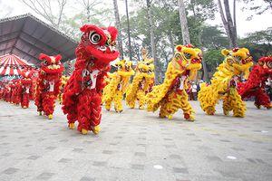 Liên hoan Lân – Sư – Rồng TP Hồ Chí Minh thu hút 25 đoàn tham gia dự thi