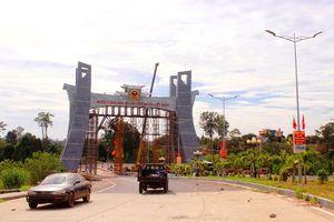 Gia Lai: Khẩn trương hoàn thành cổng Quốc môn tại Cửa khẩu Quốc tế Lệ Thanh!