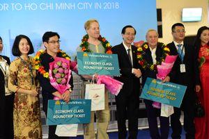 TP Hồ Chí Minh đón 7,5 triệu khách du lịch quốc tế năm 2018