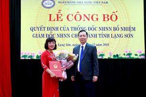 Bổ nhiệm Giám đốc Ngân hàng nhà nước chi nhánh Lạng Sơn