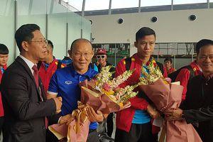 Hình ảnh tuyển Việt Nam tới Qatar, sẵn sàng tái đấu Philippines
