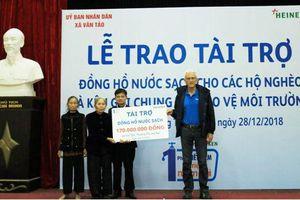Giáp Tết, gần 100 hộ nghèo tại Hà Nội được sử dụng nước sạch