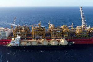 Shell bắt đầu vận hành tàu nổi hóa lỏng khí Prelude FLNG
