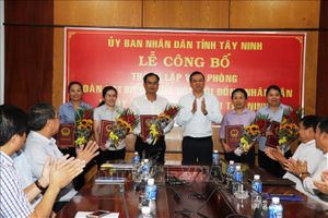 Thành lập Văn phòng Đoàn đại biểu Quốc hội, HĐND và UBND tỉnh Tây Ninh