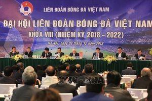Ông Trần Quốc Tuấn làm Phó Chủ tịch Thường trực Liên đoàn bóng đá Việt Nam