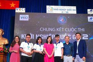 Sôi động vòng chung kết cuộc thi Khởi nghiệp Quốc gia 2018