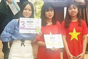 Học sinh Việt đoạt 2 huy chương tại Olympic tiếng Nga quốc tế lần thứ 16