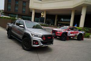Toyota Hilux sắp có thêm phiên bản độ thể thao TRD, đẹp ngang Ford Ranger Raptor