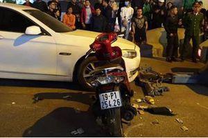 Cô gái trẻ chết thảm sau chạm với xe BMW do nữ tài xế điều khiển