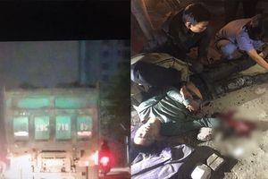 Tông nam thanh niên trọng thương, tài xế xe ben rời khỏi hiện trường bỏ mặc nạn nhân trên đường