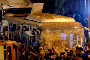 Xe chở khách du lịch Việt Nam ở Ai Cập bị đánh bom bất ngờ