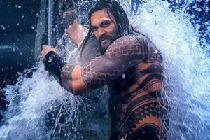 Siêu anh hùng Aquaman đã sẵn sàng cho vị trí dẫn đầu bảng xếp hạng lần thứ hai tại quê hương