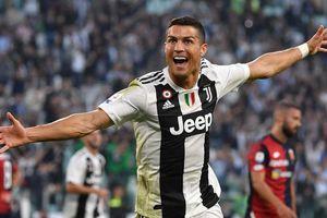 Ronaldo giúp Juventus lập kỷ lục chưa từng có tại Serie A
