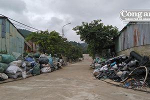 Ô nhiễm và nhếch nhác ở khu dân cư