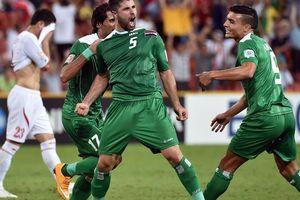 Iraq tiếp tục thắng trước trận đấu tuyển Việt Nam ở Asian Cup