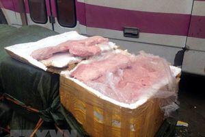Phát hiện vụ vận chuyển 2,5 tấn nầm động vật bốc mùi hôi thối