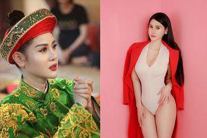 Cô đồng gợi cảm Triệu Hà Vy khoe khéo vòng eo 'con kiến'
