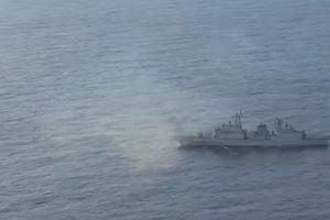 Nhật tung bằng chứng máy bay do thám bị tàu Hàn Quốc ngắm bắn