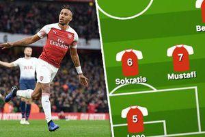 Đội hình Arsenal trước Liverpool: Aubameyang 'gánh' cả hàng công?