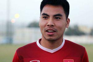 Tiền vệ Đức Huy: 'Em đã thấm nhuần triết lý bóng đá của HLV Park Hang-seo'
