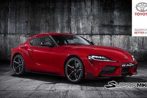 Chưa ra mắt Toyota Supra đã lộ rõ hình ảnh rõ nét