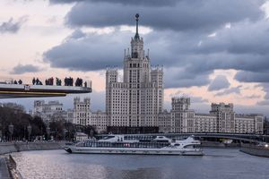 Các tòa tháp danh tiếng xập xệ giữa thủ đô Moscow hiện đại