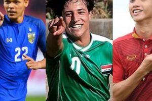 Đoàn Văn Hậu và những cầu thủ trẻ nhất Asian Cup 2019