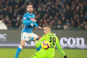 Vòng 19 - Serie A: Napoli, AC Milan nhọc nhằn giành chiến thắng