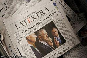 Tấn công mạng khiến hàng loạt tờ báo ở Mỹ bị 'trúng chiêu hiểm'