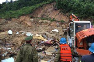 Sạt lở đất ở Khánh Hòa, 3 người chết