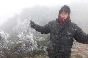 Băng tuyết xuất hiện phủ trắng Mẫu Sơn