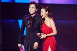 Midu diện váy David Wong quyến rũ tại sự kiện mới