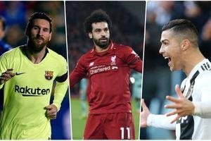 Cập nhật Vua phá lưới châu Âu 2018/2019: Ronaldo áp sát Messi