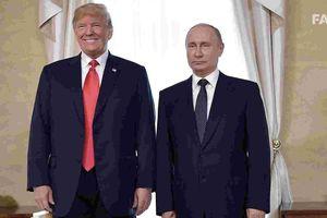 Tổng thống Putin gửi thư chúc mừng năm mới đến ông Trump