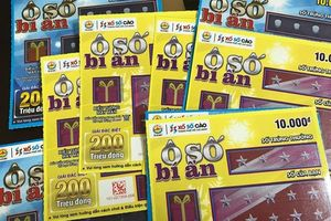 Vé số cào trúng ngay: Giải thưởng đến 500 triệu đồng